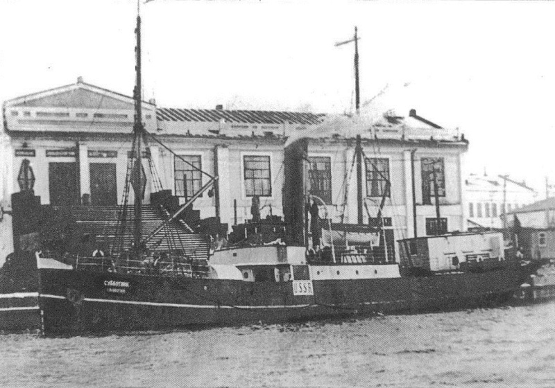 "The ""Subbotnik"" - one of the oldest steamships"